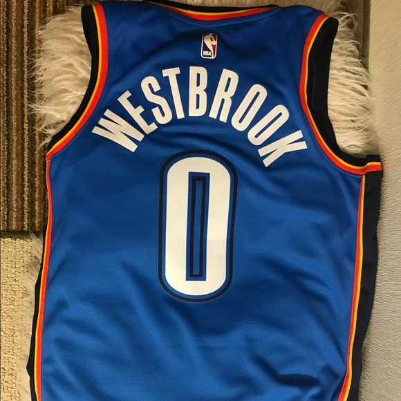 big sale a0a61 e3f03 Nike Russell Westbrook Jersey